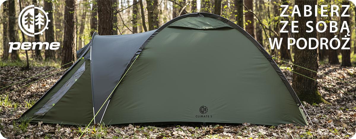 Namioty turystyczne campingowe Peme