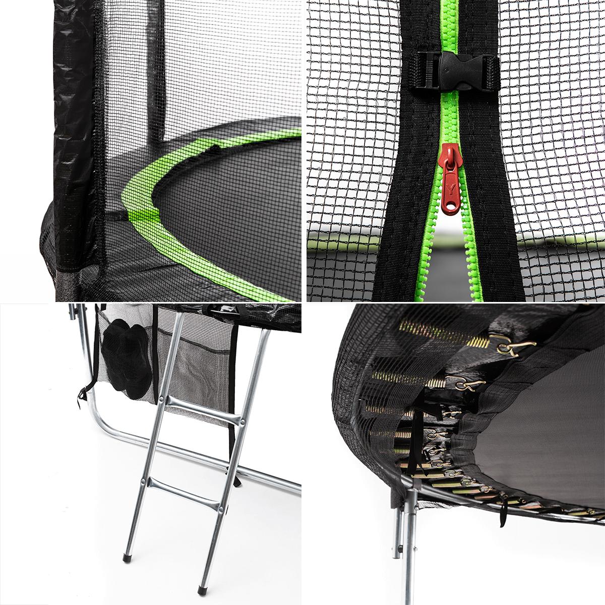 trampoliny zipro bezpieczeństwo