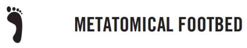 Metatomical Footbed Design™