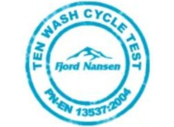 Ten Wash Cycle Test  Fjord Nansen PN-EN 13537:2004