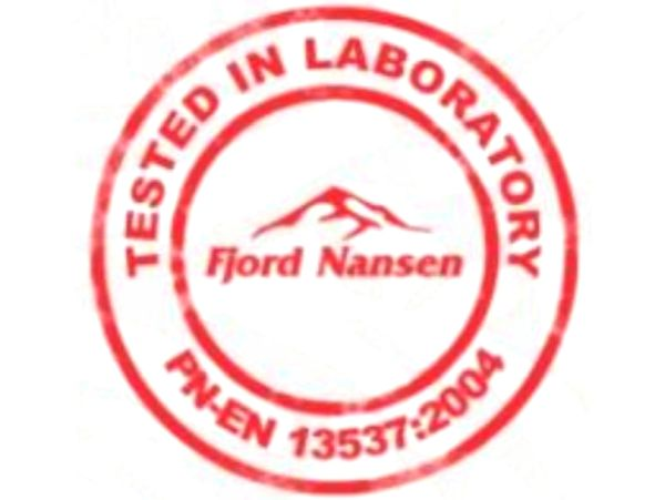 Tested In Laboratory Fjord Nansen